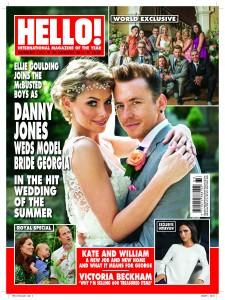 Danny Jones Georgia Horsley Wedding Stationery by WEDFEST