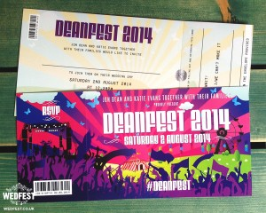 deanfest festival themed wedding