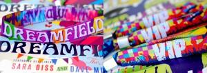 wedding woven festival wristbands