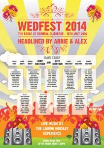 wedfest 2014 wedding table plan