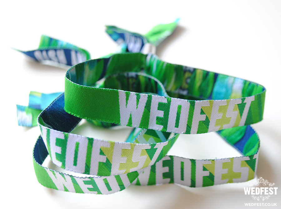 custom festival weddings wristbands