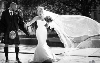 festival wedding paisley town hall scotland