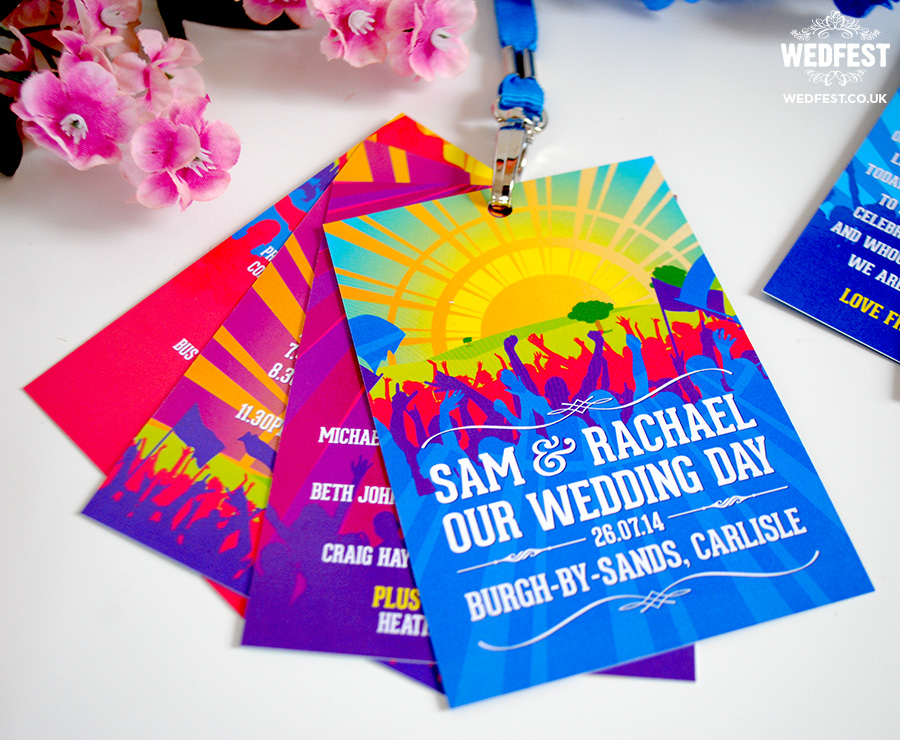 festival wedding programs