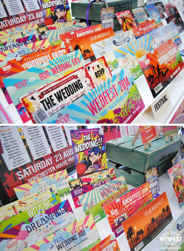 quirky wedding invitations wedfest