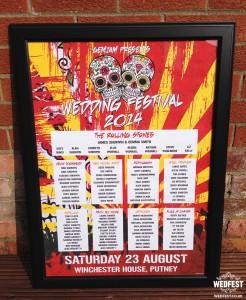 rock festival wedding seating plan