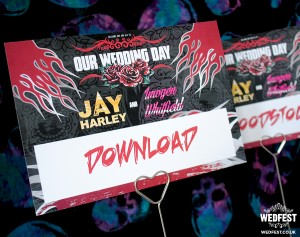 heavy metal wedding
