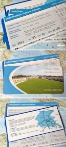Travel Ticket Wedding Invitations