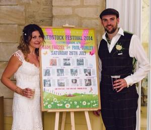 sam and pauls festival wedding table plan