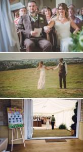 sam and pauls wedstock festival wedding