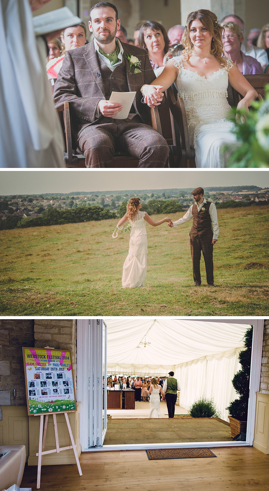 sam and pauls wedstock festival wedding