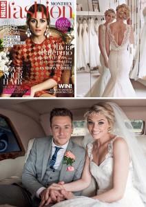 Hello! magazine monthly magazine danny jones wedding