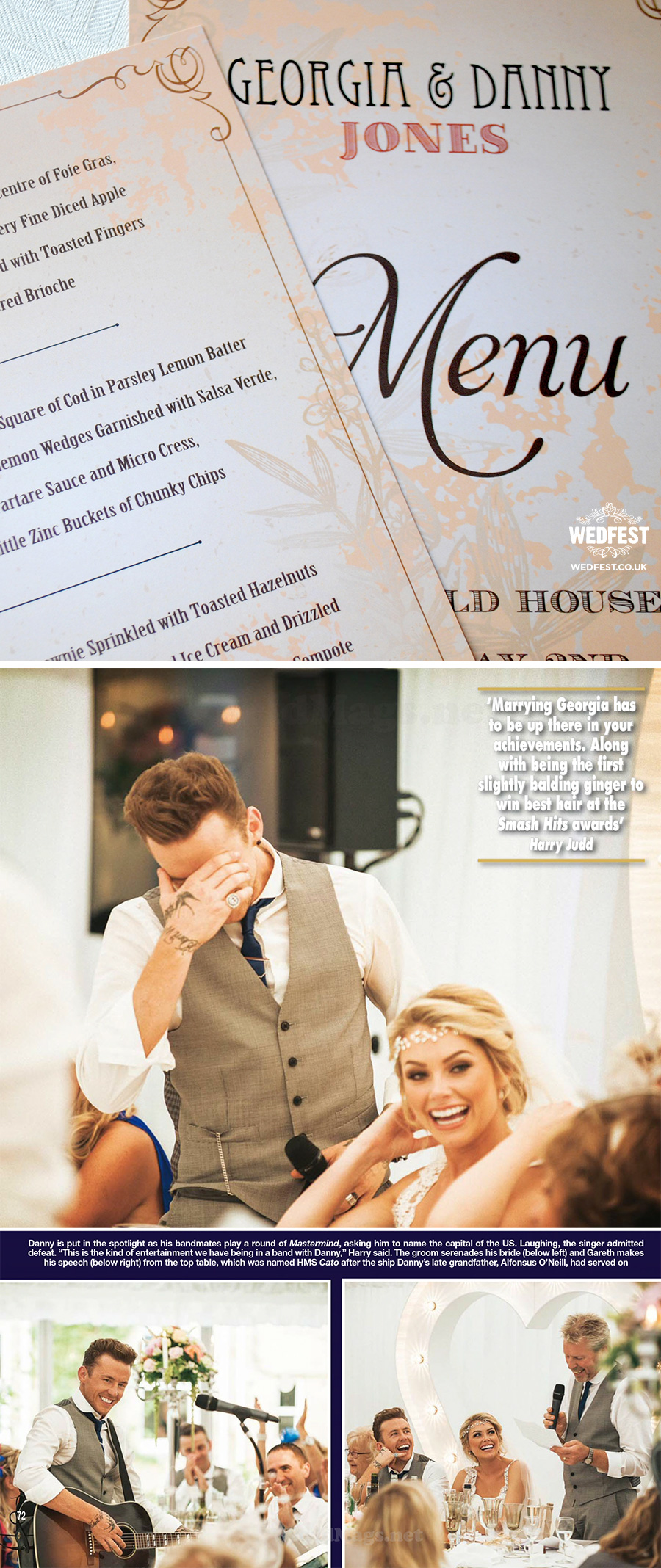 mcbusted wedding stationery hello magazine danny-jones