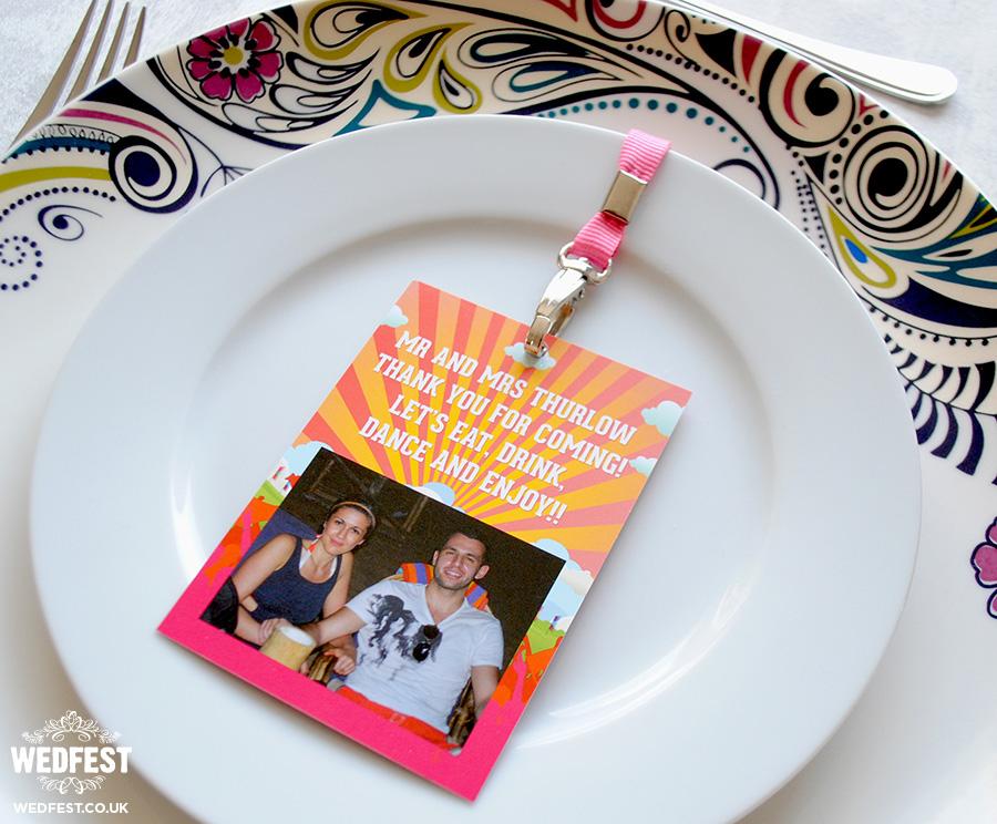 vip lanyard alternative wedding place cards