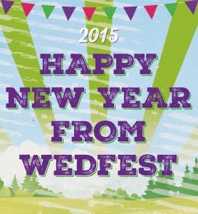 happy new year from wedfest wedding stationery