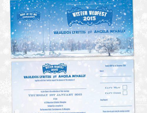 Winter / Christmas / Festive Themed Wedding Stationery