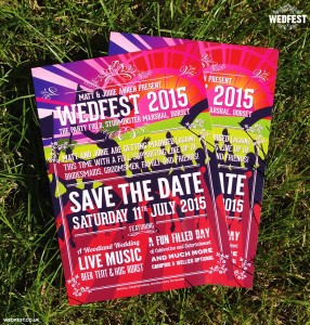 Music Festival Poster Wedding Save The Date Cards