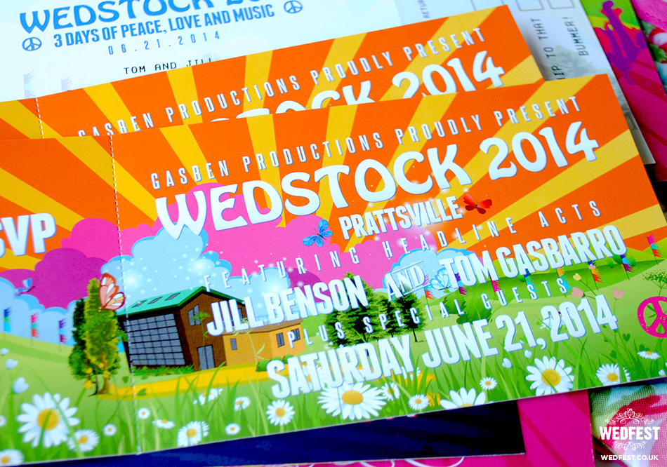 Wedding Festival Invites