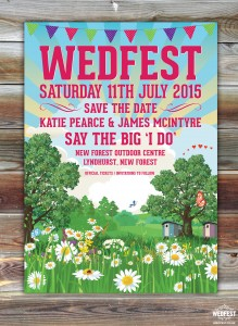 Wedfest Wedding Save The Date Cards