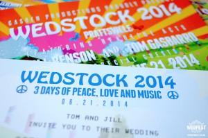 Wedstock Wedding Invites USA