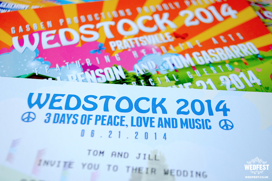 Wedstock Wedding Invites USA