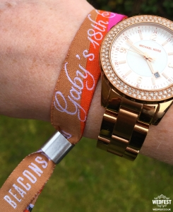 18th birthday party wristbands