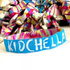 kidchella childrens party festival wristbands