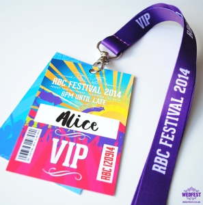 corporate event lanyards