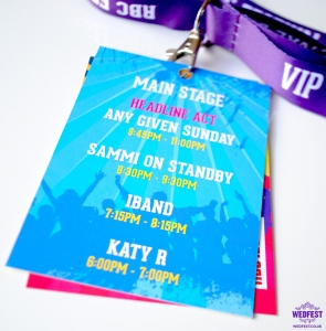 corporate festival lanyard programme