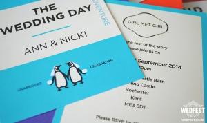 same sex lgbt wedding invitations