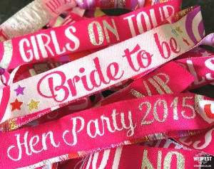 bride to be wristband