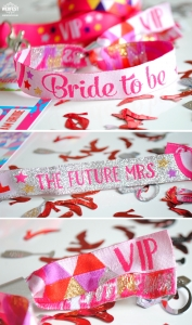 bride to be wristbands