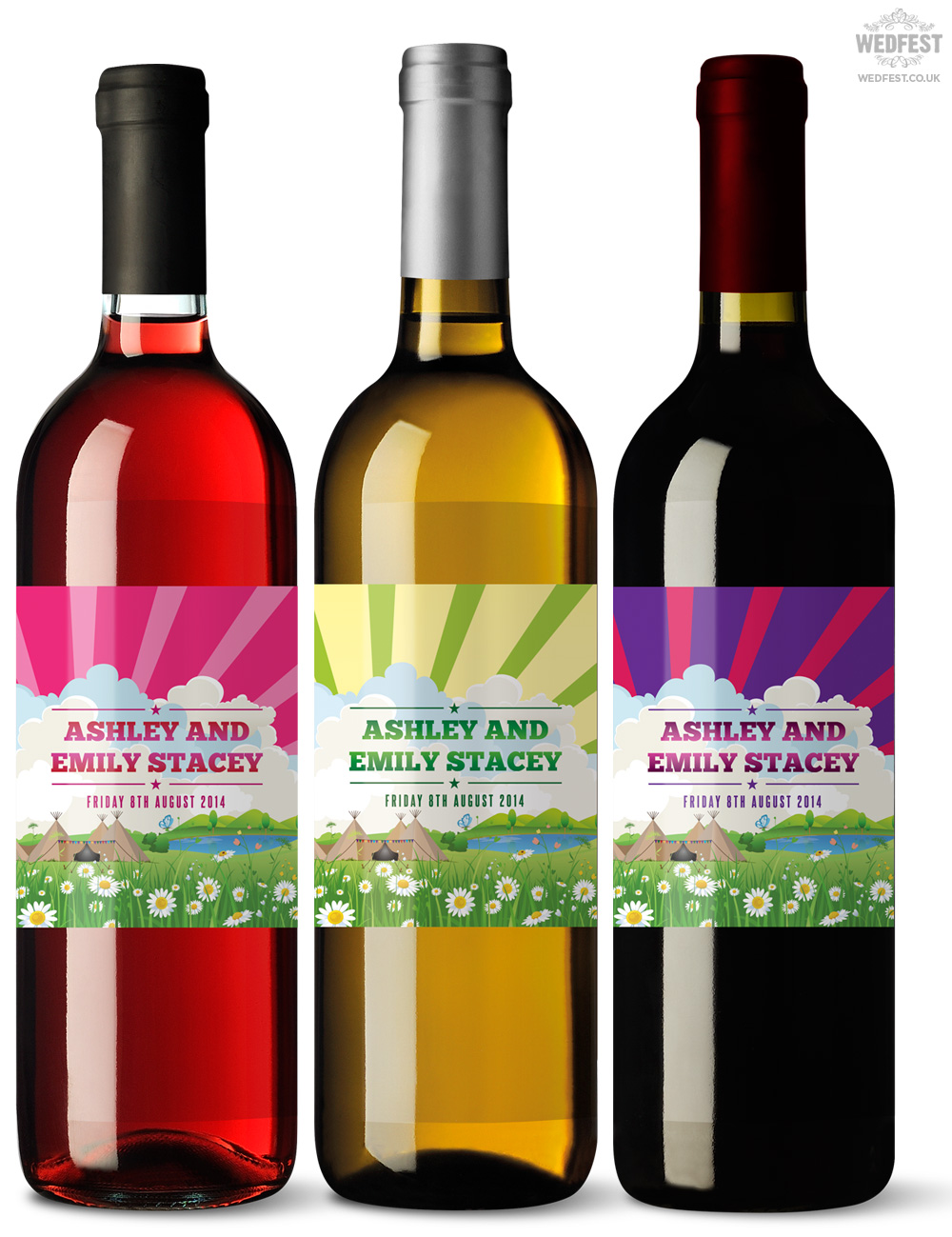 custom wine bottle labels