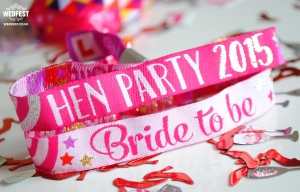 hen party bride to be wristbands