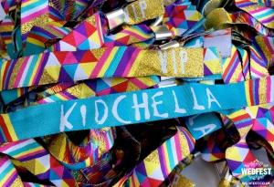 kidchella birthday party wristbands