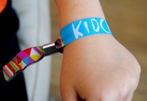 kidchella festival birthday party wristbands