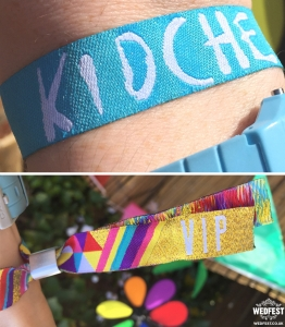 kidchella festival party wristbands