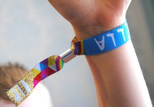 kidchella kids childrens party wristbands