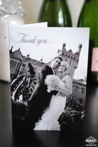 personalised wedding thank you cardspersonalised wedding thank you cards