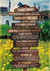 wedding festival sign table plan