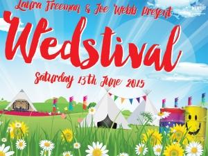 festival wedding invitation