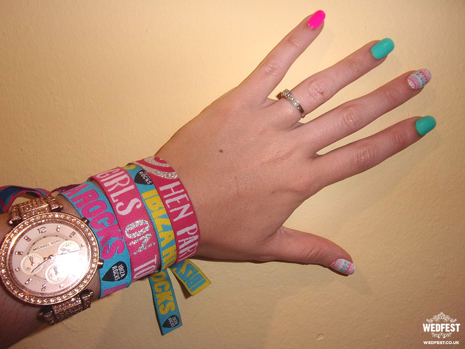ibiza hen party wristband