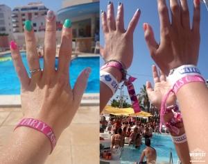 ibiza hen party wristbands