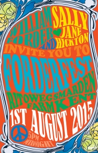 1960s Psychedelic Poster Wedding Invite