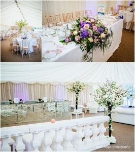 festival wedding table decoration