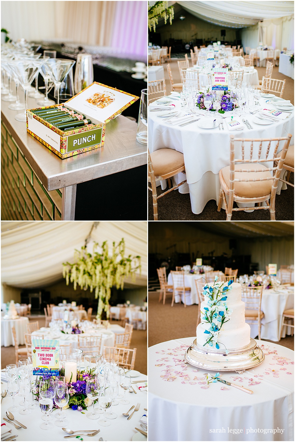 festival wedding tables