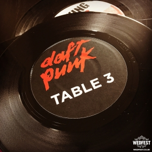 vinyl record wedding table names