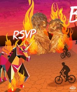 burning man themed wedding