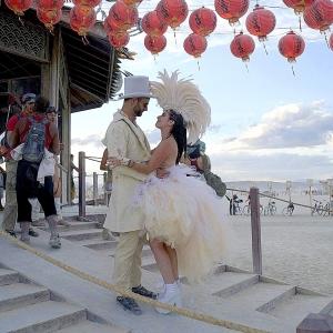 burning man wedding ceremony