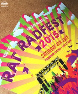 festival 50th, 21st, 18th, birthday party invite