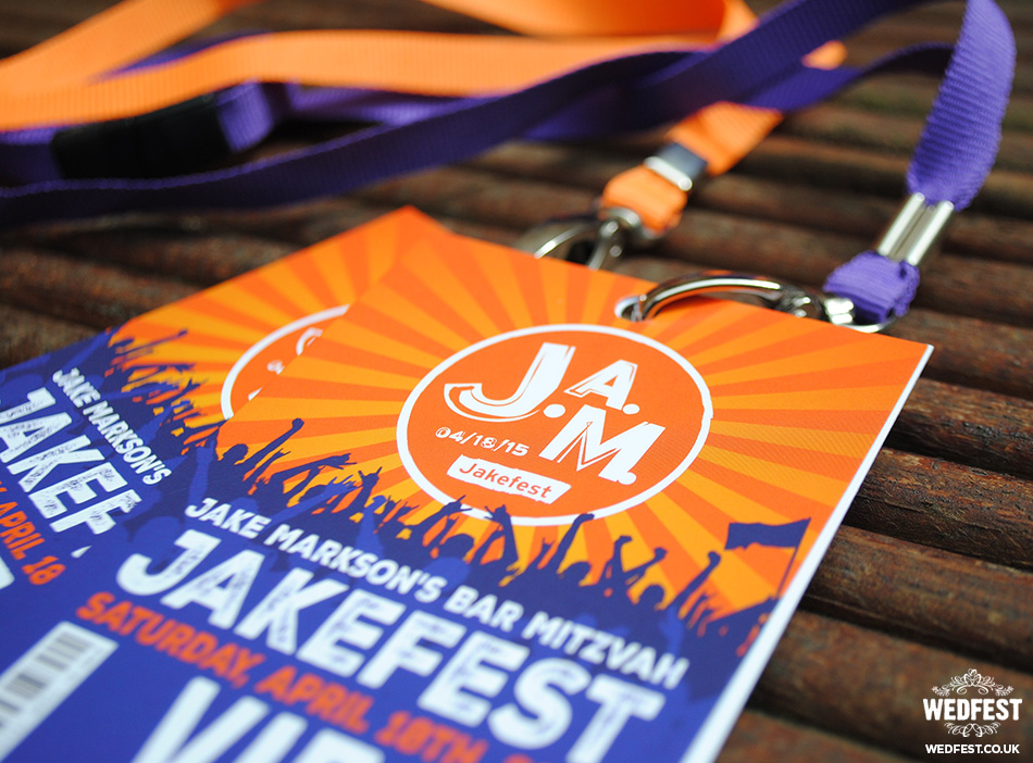Festival Bar Mitzvah Invites